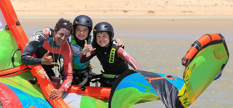 kitesurf lessons essaouira semiprive