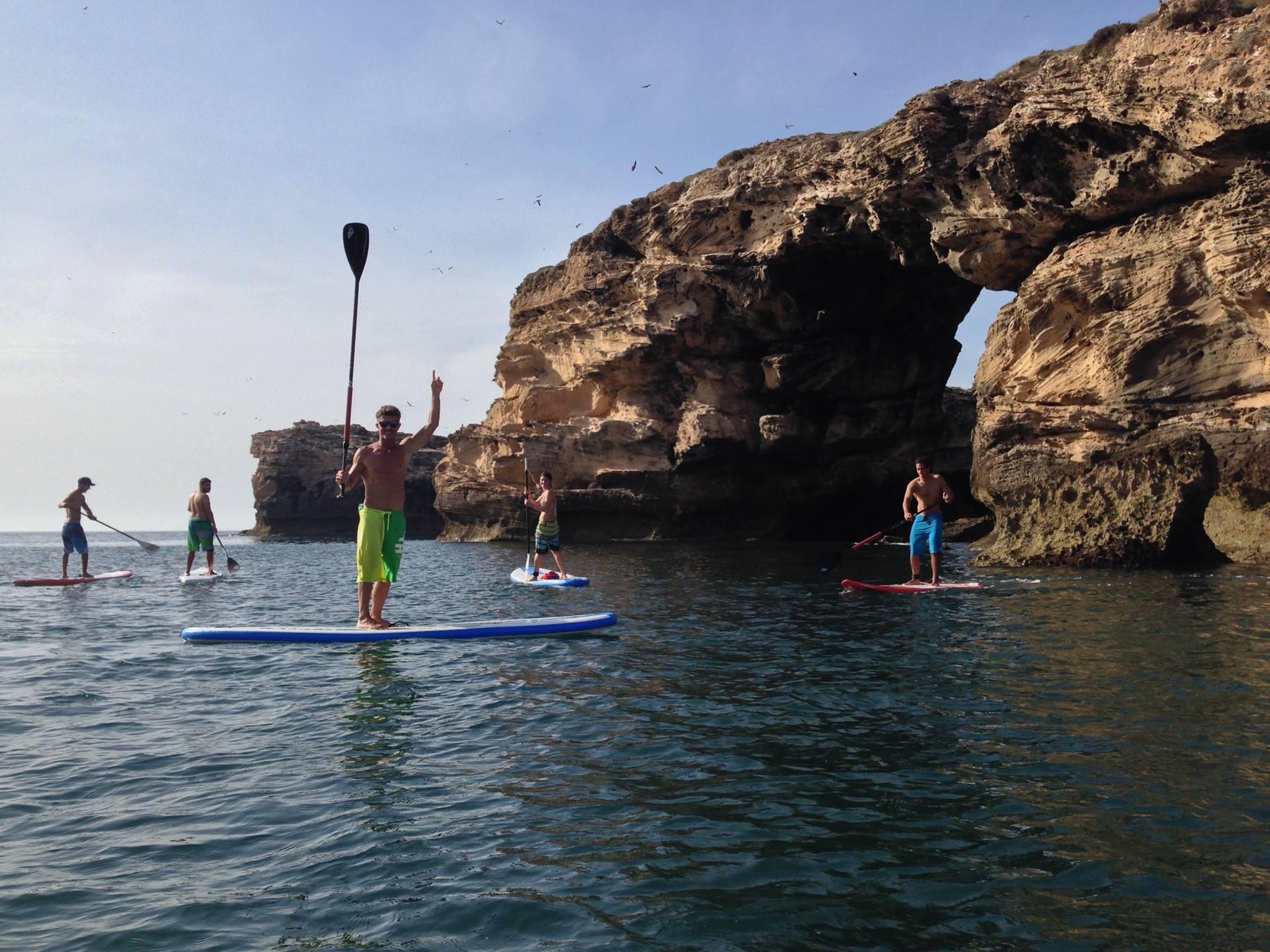 Stand-up Paddle Essaouira Maroc