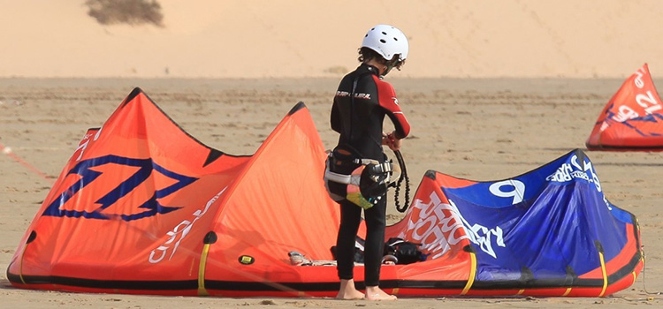 kitesurf lessons for kids essaouira