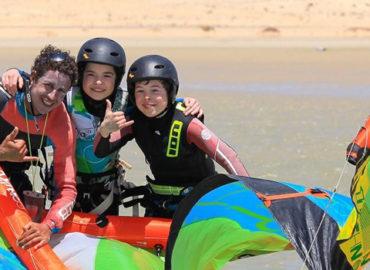 Cours Kitesurf Enfants Essaouira Maroc